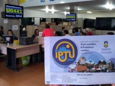 Prefeitura de Dourados lança 99 mil carnês para receber R$ 123,3 milhões de IPTU