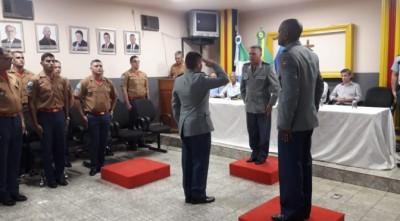 Corpo de Bombeiros Militar em Ivinhema realiza passagem de comando