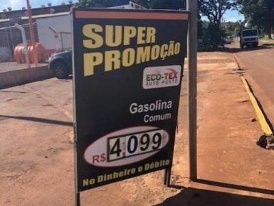 Após \'batida\' do Procon, postos baixam valores dos combustíveis em até R$ 0,20