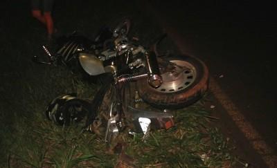 Motociclista foge após acidente na MS-141 em Ivinhema
