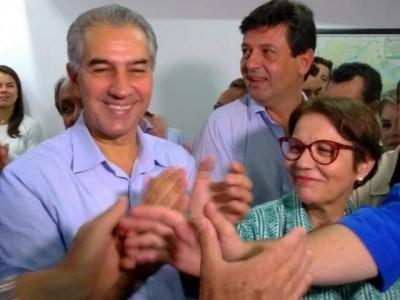 Reinaldo e ministra Tereza Cristina participam de abertura do Showtec