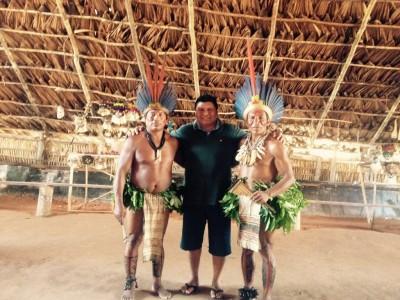 Índio terena emociona ao chegar no doutorado sem nunca ter abandonado seu povo