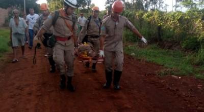 2º Grupamento de Bombeiros Militar em Dourados atende ocorrência de pessoa desaparecida