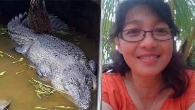 Cientista é devorada viva por crocodilo de 5 metros
