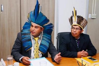Vereador Alécio inicia os trabalhos no Legislativo reivindicando melhorias para Tey'Kuê