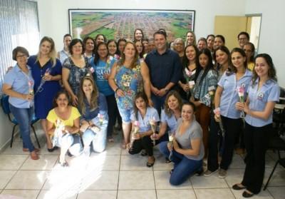 André Nezzi homenageia servidoras públicas no Dia da Mulher