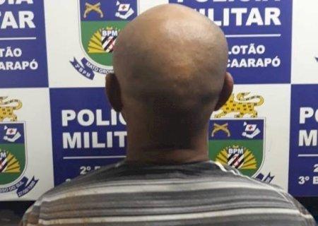 PM de Caarapó prende participante de grupo acusado de latrocínio de idoso
