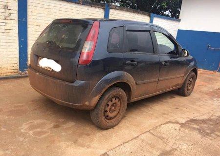 PM de Caarapó recupera veículo furtado em Dourados