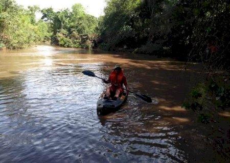 Bombeiros de Caarapó localizam corpo de criança que desapareceu no Rio Piratini