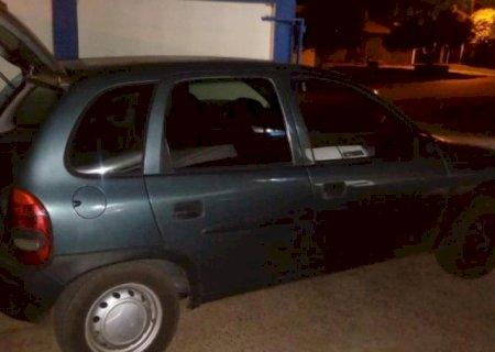 Trio é preso em Caarapó com 115 quilos de maconha que seriam entreguem no PR