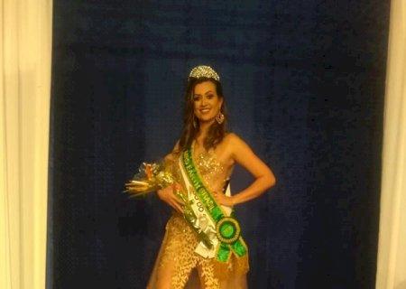 De Caarapó, Miss de MS vence concurso em Minas e vai representar o Brasil em evento internacional