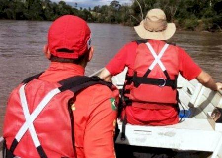 Corpo de pescador desaparecido noRio Amambai é encontrado em Juti