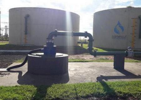 Sanesul investe mais de R$ 2 milhões e amplia fornecimento de água tratada em Caarapó