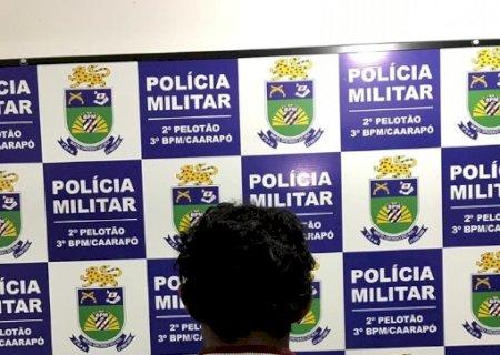 Homem ameaça a própria mãe e sua ex-esposa e  acaba preso pela PM de Caarapó