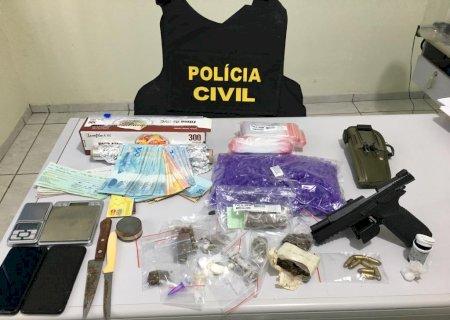 Operação termina com quatro presos por tráfico de drogas em Juti