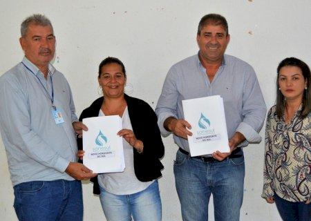 Novo Horizonte do Sul renova concessão com Sanesul