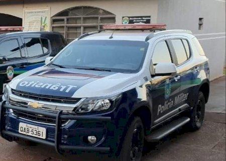 Caarapó: Motorista embriagado bate  Gol em estabelecimento comercial após colidir com veículo