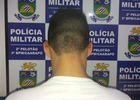 PM de Caarapó prende homem acusado de estupro de vulnerável