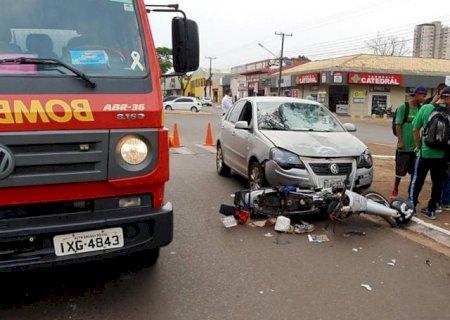 Ponta Porã: Motorista abandona carro e foge após acidente matar homem de 74 anos