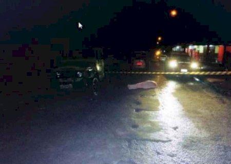 Motociclista morre após colidir em camionete que estava estacionada em Ponta Porã