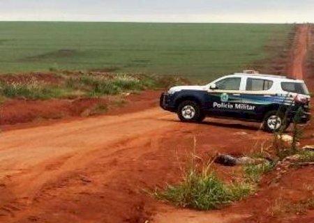 Com mãos e pés amarrados, homem é encontrado morto com tiro na cabeça na Fronteira