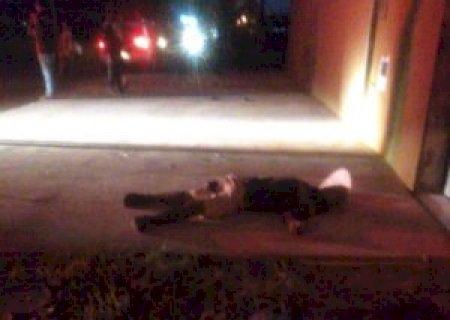 Mais um: homem é assassinado a tiros no Jardim Aeroporto em Ponta Porã