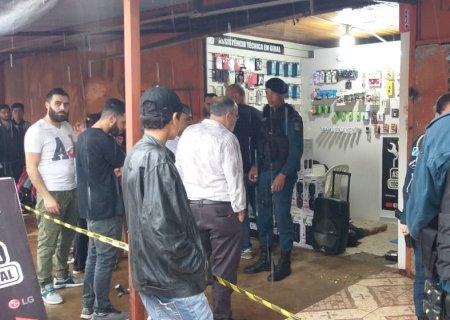 Comerciante libanês é executado com 16 tiros de pistola em Ponta Porã