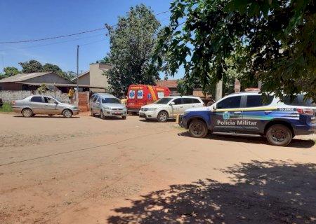 Homem é assassinado a golpes de faca após discussão em bar na cidade de Caarapó