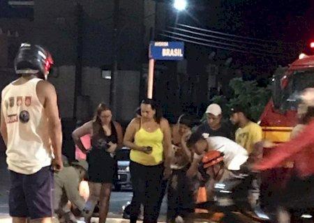 AGORA: Motociclista morre em acidente em Ponta Porã