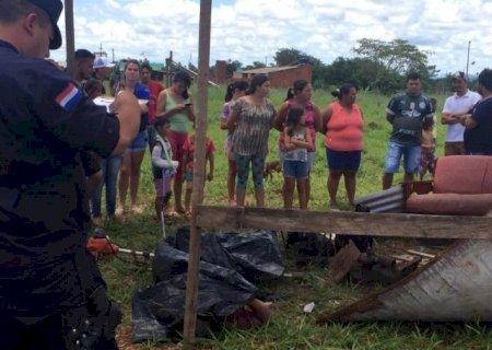 Homem morre após ser atingido por raio no assentamento Santa Teresa em Ponta Porã