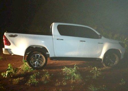Polícia do Paraguai recupera caminhonete de empresário brasileiro