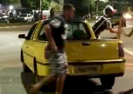 IVINHEMA: Três pessoas são presas acusadas de atirar em policial