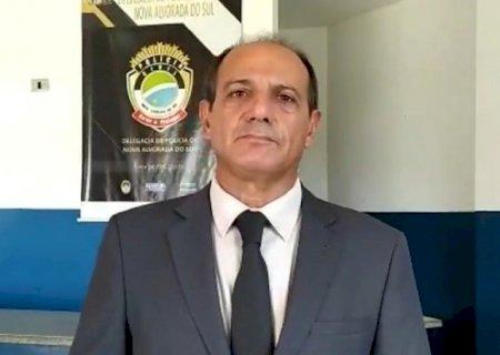 Prefeito de Nova Alvorada, Arlei Barbosa, é acusado de dá soco em adversário político durante sessão da Câmara Municipal