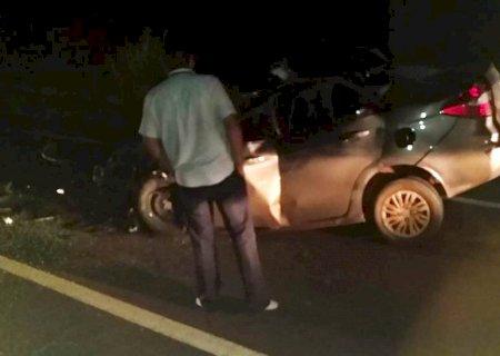 AGORA: 3 pessoas morrem em grave acidente entre Nova Andradina e Amandina