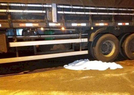 URGENTE: Criança morre após ser atropelada por carreta em Nova Andradina