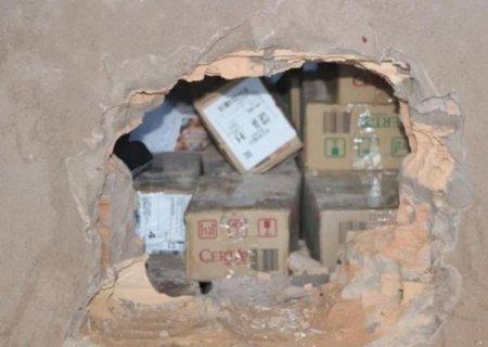 Bandidos fazem buraco em parede e furtam R$ 35 mil de lotérica em Nova Alvorada do Sul