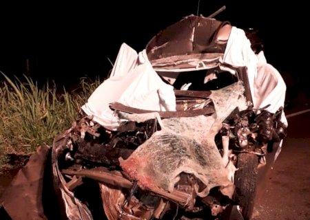 Vítimas identificadas: Caminhão teria parado no meio da pista e provocado acidente com morte de três na BR-276