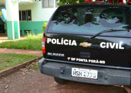 Polícia tenta identificar homem encontrado morto a tiros de pistola em rodovia de Ponta Porã