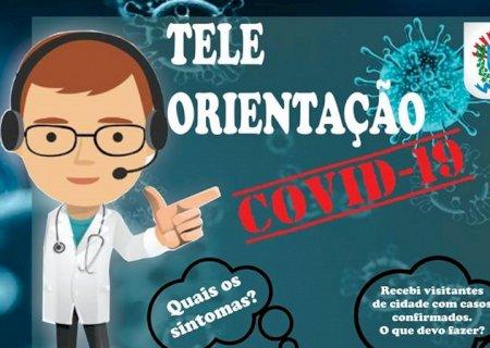 Prefeitura cria \'Tele Orientação\' para tirar dúvidas da população sobre o coronavírus em Vicentina