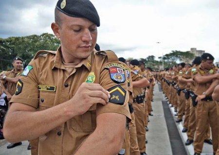 Polícias Militar e Civil oferecem 2,8 mil vagas e salários de até R$ 18,2 mil no Paraná