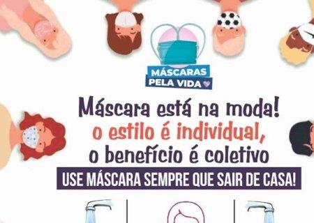 Prefeitura distribuirá 6 mil máscaras de proteção contra o Coronavírus para população em Vicentina