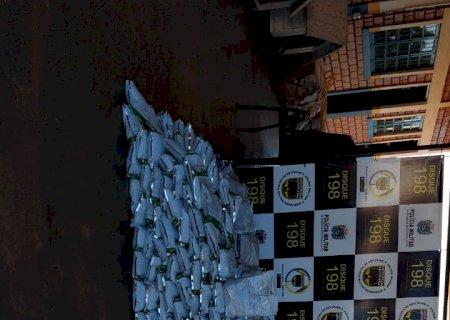 Morador em Caarapó é preso com 500 kg de agrotóxicos e multado em R$ 10