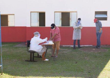 Começam os testes de Covid-19 em funcionários da JBS/Seara residentes em todo município de Vicentina