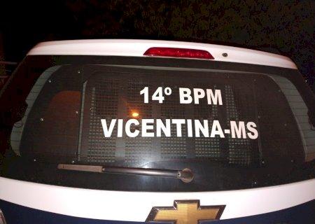 Pedestre fica ferido ao ser atropelado por moto em Vicentina