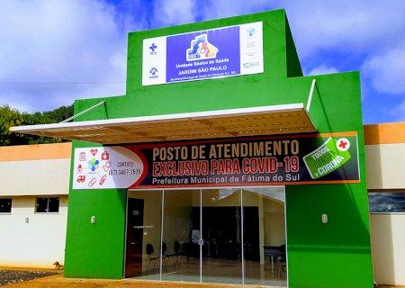 Prefeitura de Fátima do Sul abre nesta segunda posto de atendimento exclusivo para casos com suspeita de COVID-19