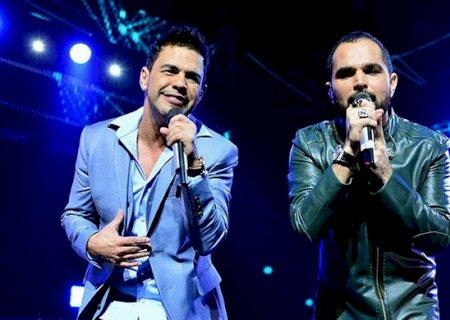 Zezé Di Camargo e Luciano é adiada por diagnóstico de coronavírus