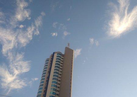 Terça-feira tem sol entre nuvens e máxima de 27°C em MS