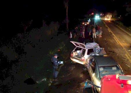 Jovens que morreram no acidente em Vicentina moravam em Fátima do Sul