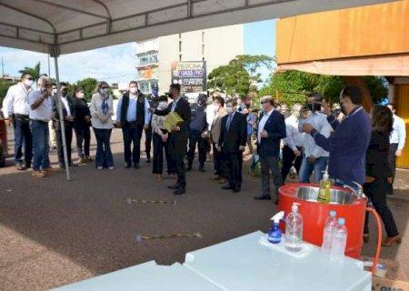 Paraguai monta delivery da fronteira e torce por acordo com Brasil