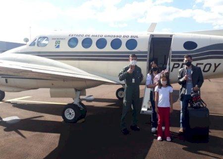 Casa Militar do Governo de MS atende missão humanitária para salvar vida de criança de Vicentina